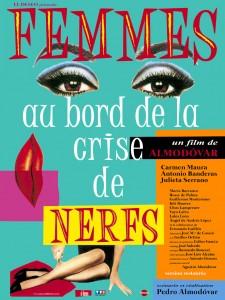 affiche Femmes au bord de la crise de nerfs